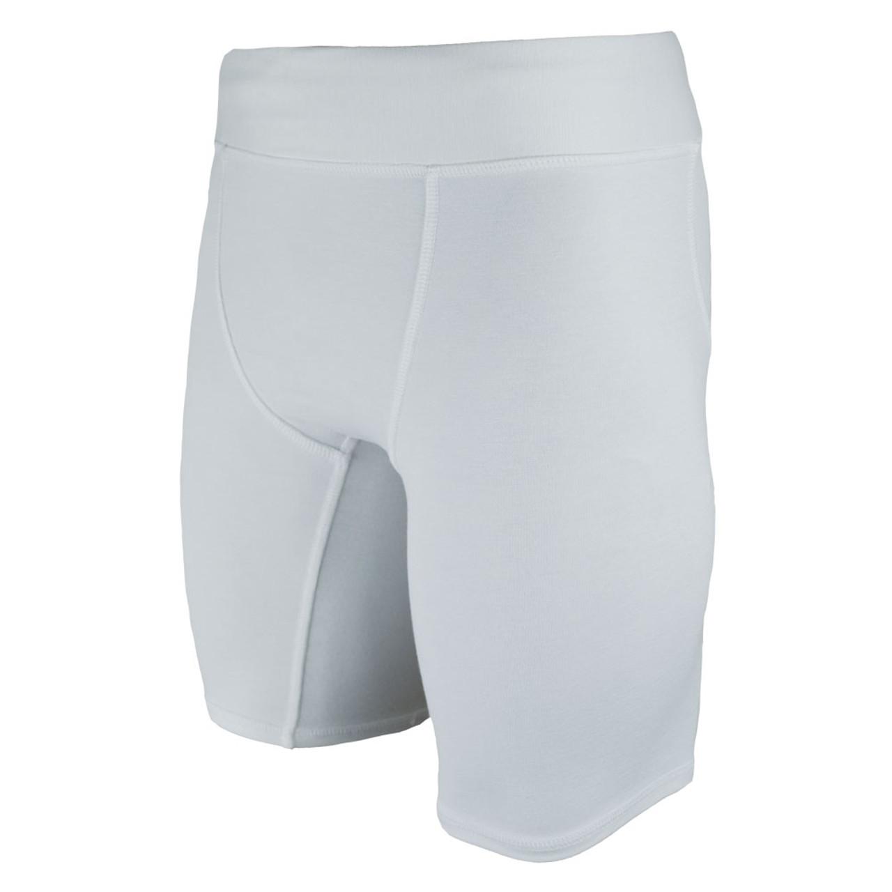Blank Vale Tudo Shorts Long White