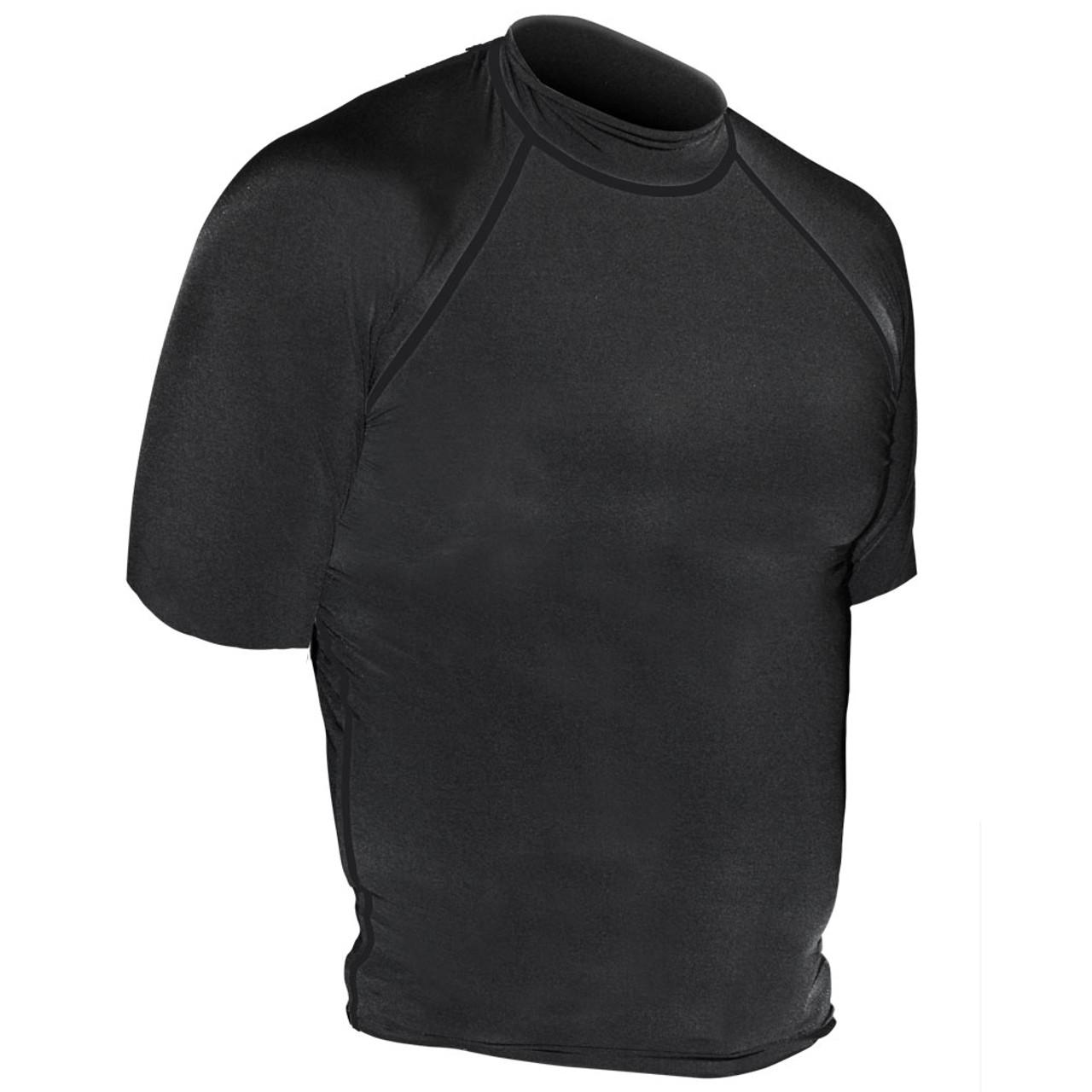 Solid Rash Guard - Short Sleeve