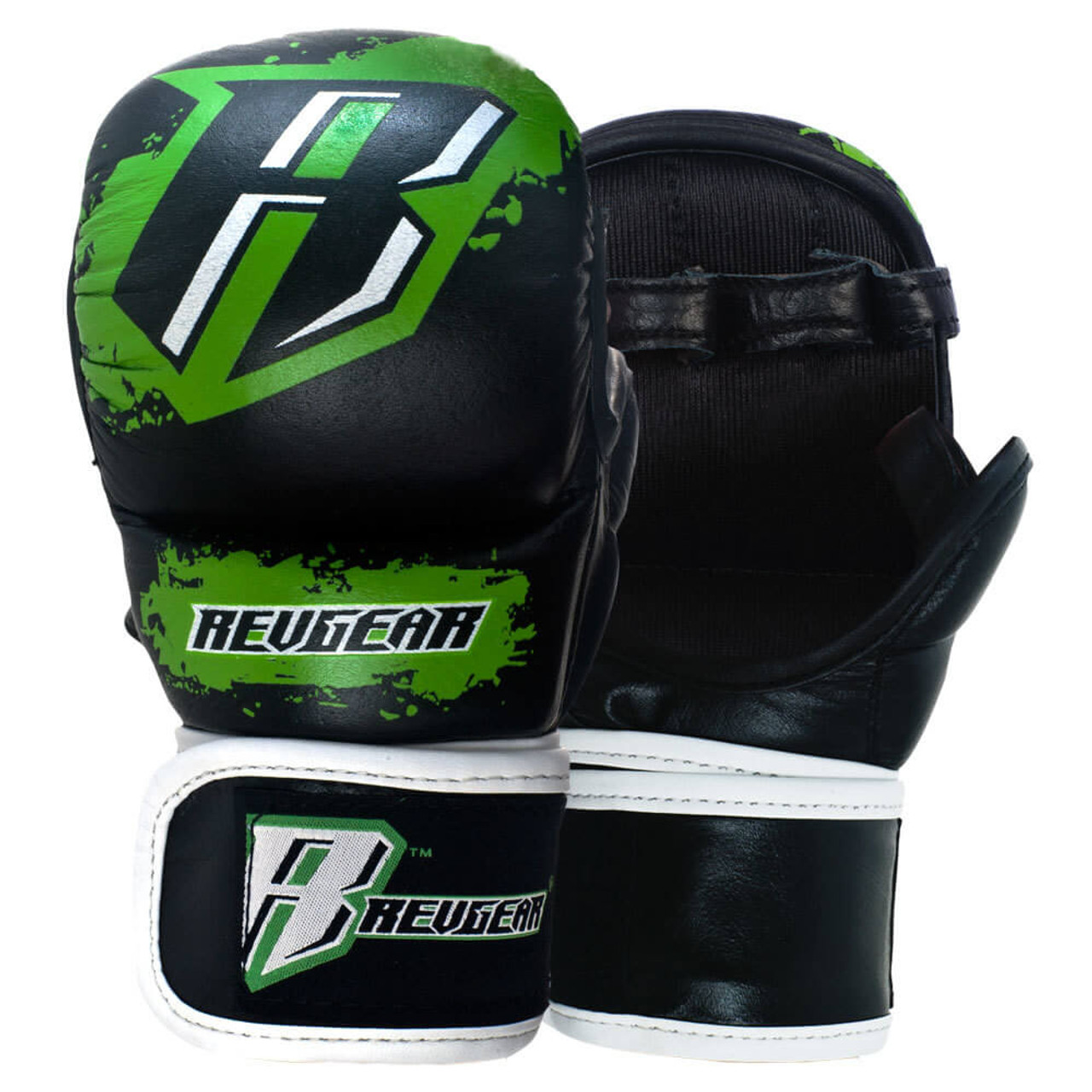 Youth Leather MMA Training Gloves