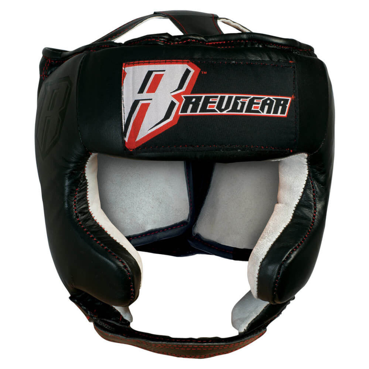Leather Headgear With Cheek Protection - No Chin