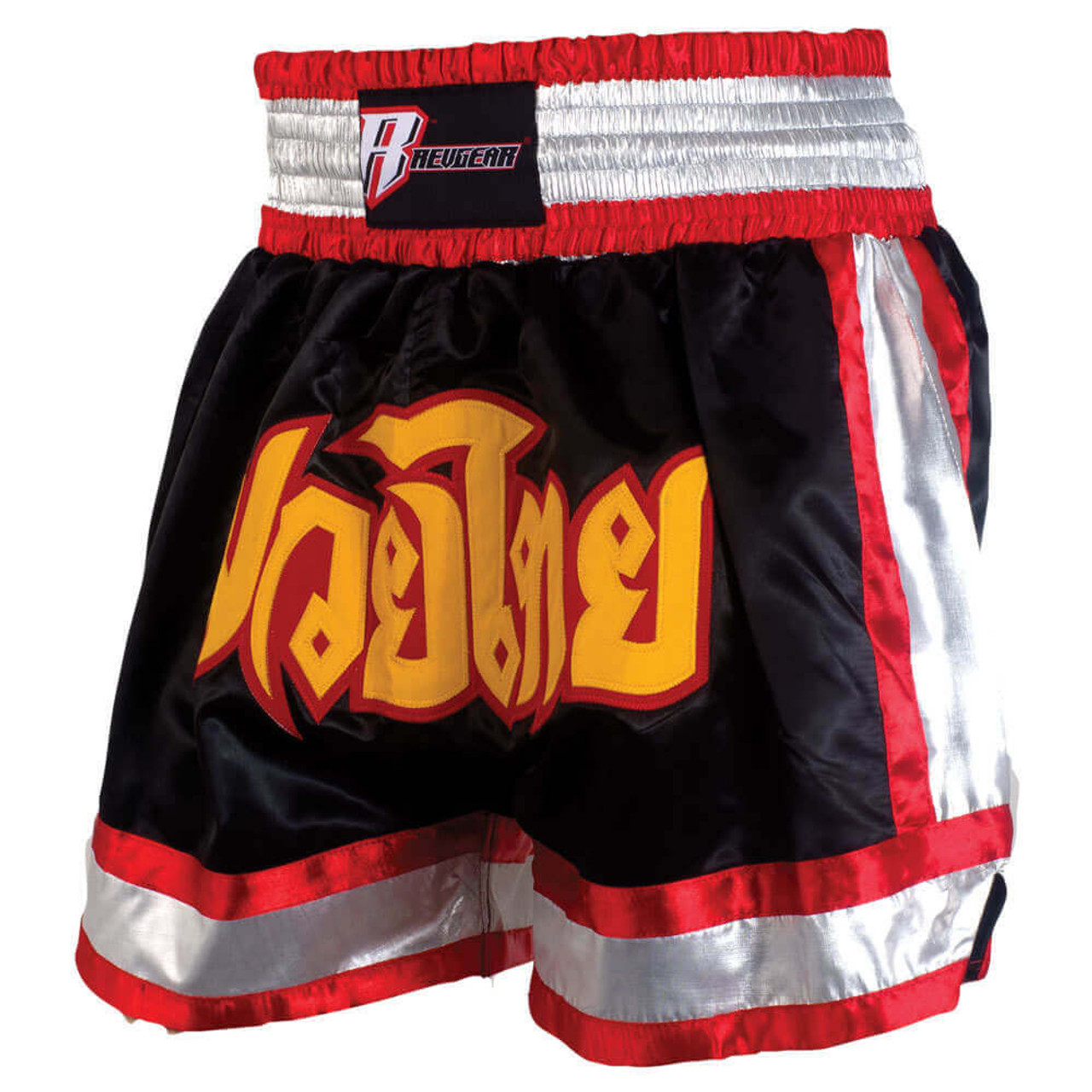 Deluxe Muay Thai Shorts - Black