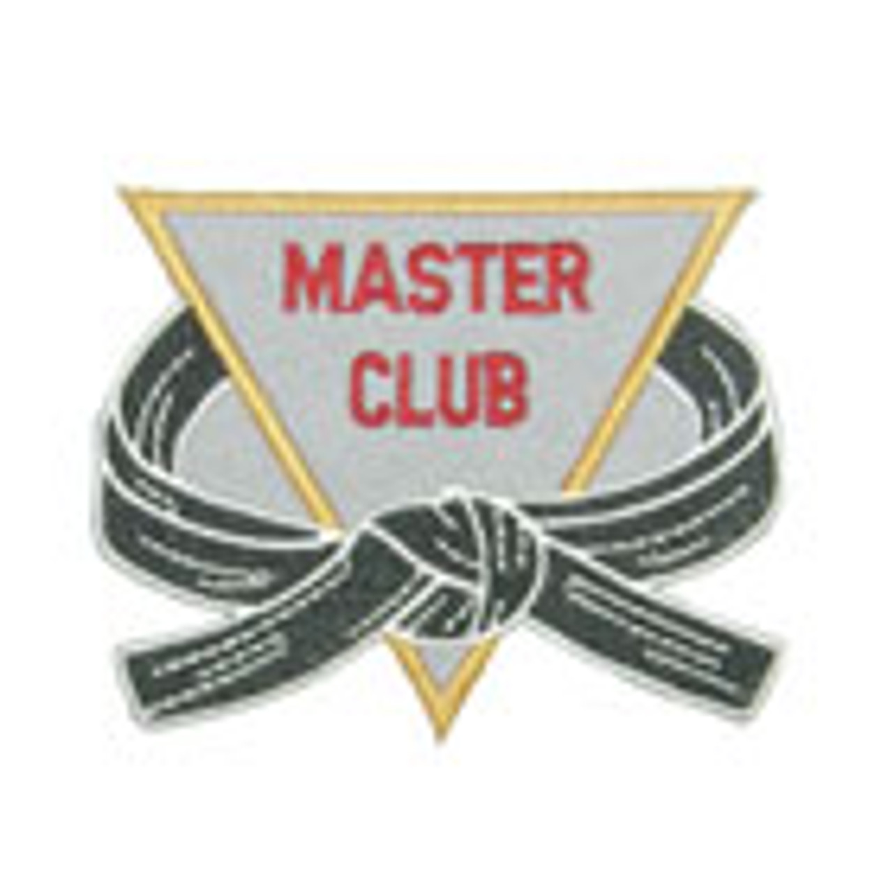 Master Club Triangle Patch