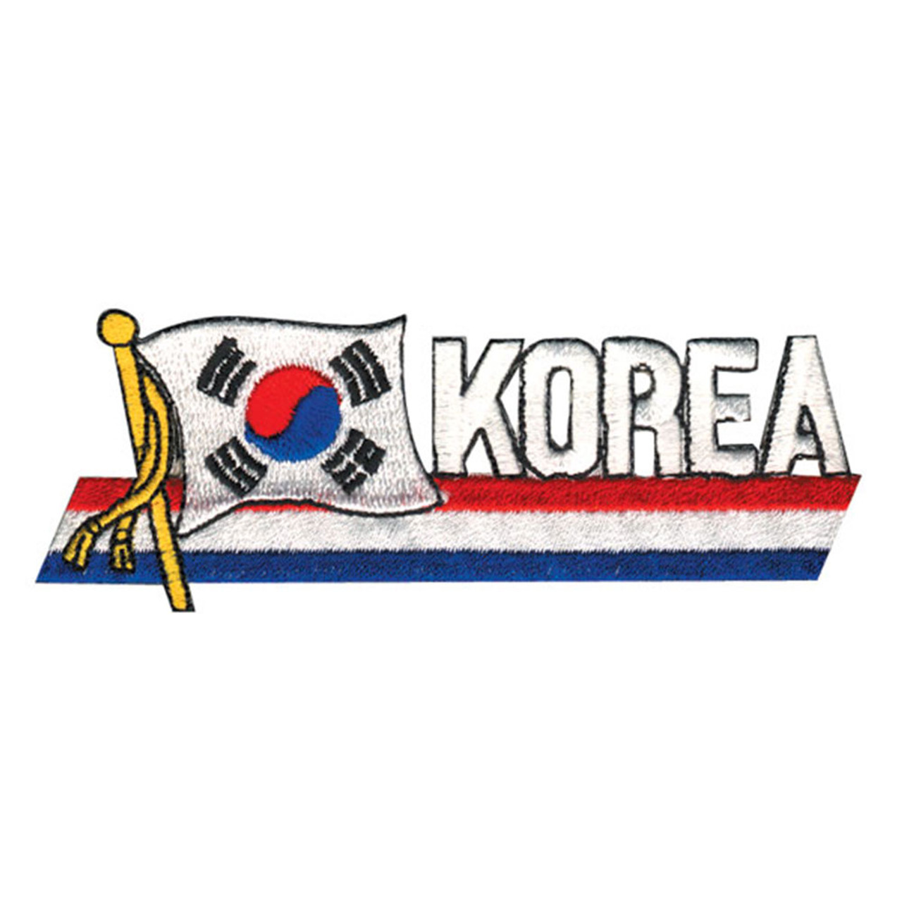 Korean Flag Patch II