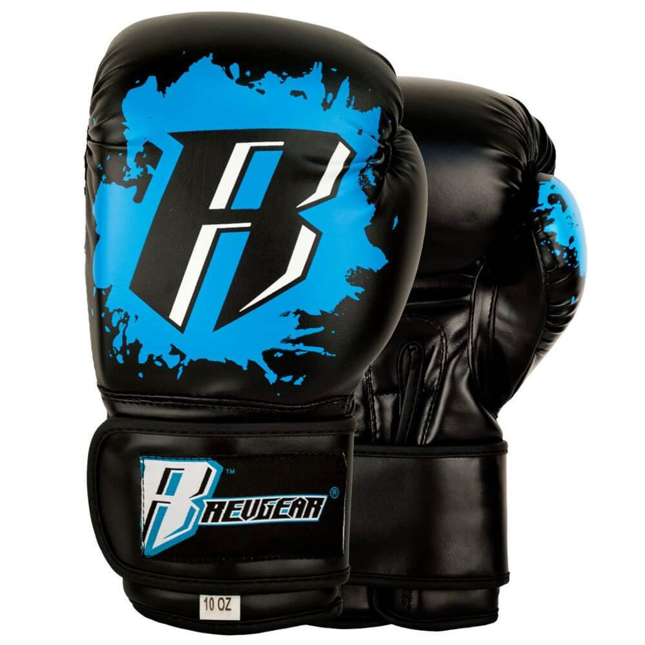 Youth Deluxe Boxing Gloves for Martial Arts, Krav Maga and MMA | Blue