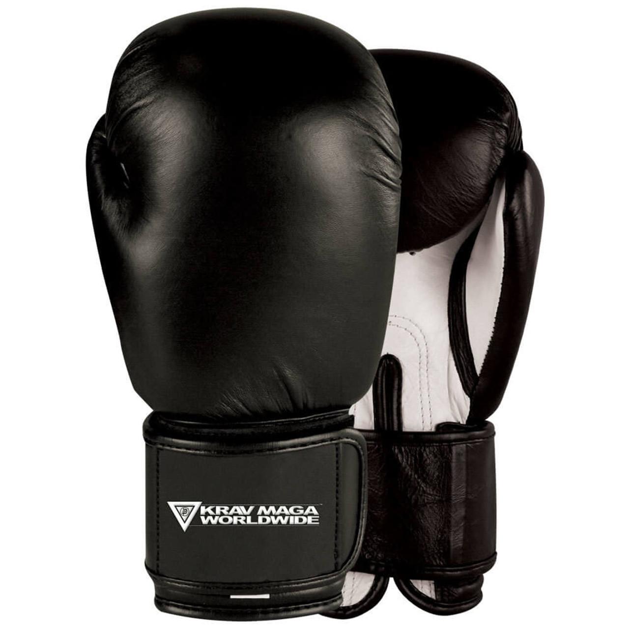 Krav Maga Black Elite Sparring Training Boxing Gloves