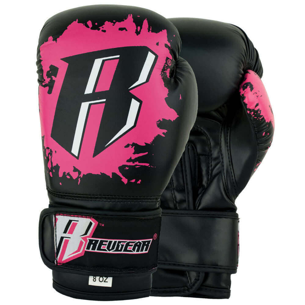 Youth Deluxe Boxing Gloves - Pink