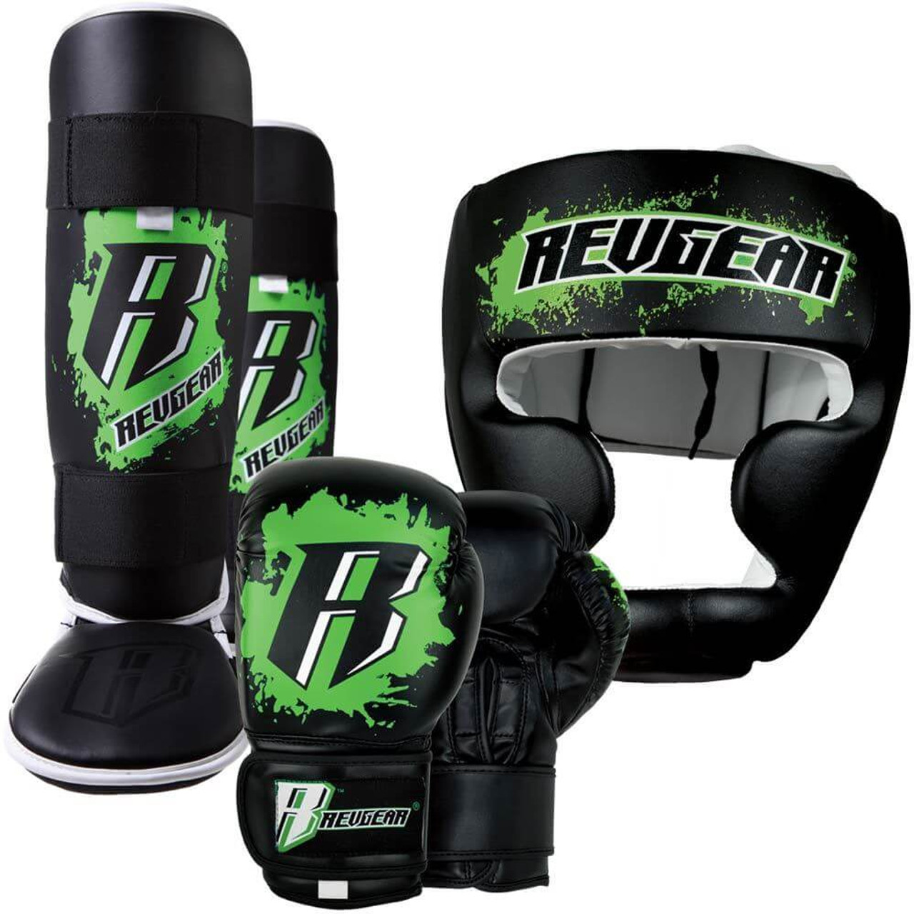 Pink Revgear Youth Combat Shin Guards