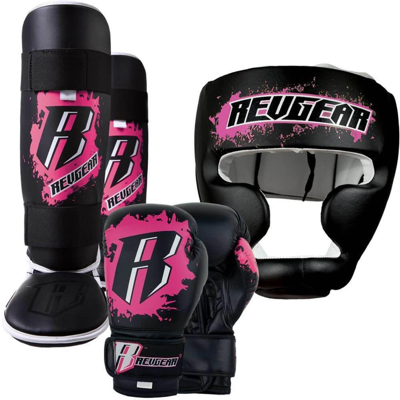 Kids Deluxe Kickboxing Kit - Pink