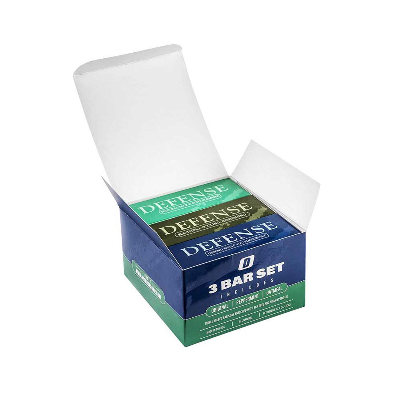Defense Soap - 3 Bar Soap Set
