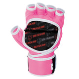 Deluxe Pro Leather MMA Gel Sparring Gloves