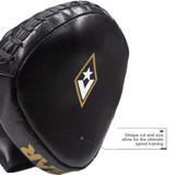 RG4 Pro Leather Micro Speed Mitts | for Martial Arts, Boxing, MMA