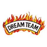 Dream Team - Flame Patch