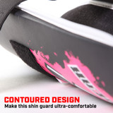 Combat Series Youth Shin Guards - Pink