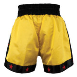Deluxe Muay Thai Shorts - Gold