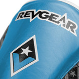 Superlite Light Weight Leather Shin Guards | for Martial Arts and MMA | Blue