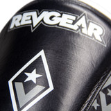 Superlite Light Weight Leather Shin Guards | for Martial Arts and MMA | Black