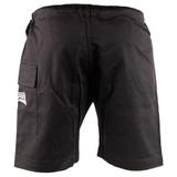 Jiu Jitsu Training Shorts for the Mat & Beach - Black