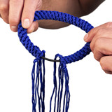 Prajead Traditional Style Elastic Muay Thai Armband - Blue