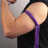 Prajead Traditional Style Elastic Muay Thai Armband - Purple