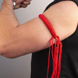 Prajead Traditional Style Elastic Muay Thai Armband - Red