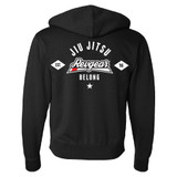 Revgear Belong BJJ Zip Up Hoodie - Black