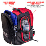 "Travel Locker XL - ""The Beast"" - The Ultimate Martial Arts Backpack"