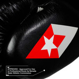 F1 Competitor Lace Boxing Glove - Black