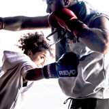 F1 Competitor Lace Boxing Glove - White