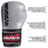 S5 All Rounder Boxing Glove - Gray/Black