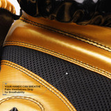 Pinnacle P4 Boxing Glove - Gold/Black