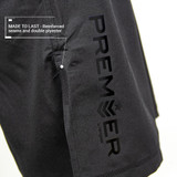 Premier Deluxe Shorts - Youth - Black/Black