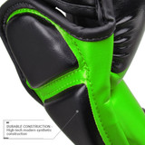 Pinnacle 2 MMA Training and Sparring Glove - Black/Lime