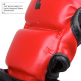 Pinnacle P4 MMA Training and Sparring Glove - Black/Red
