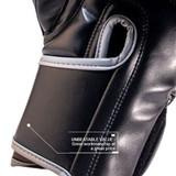 Premier Deluxe Boxing Glove - Black/Grey