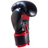 Premier Deluxe  Boxing Glove - Black/Red