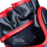 Premier Deluxe MMA Glove - Black/Red