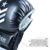 Premier Deluxe MMA Training Glove - Black/Gray