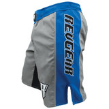Spartan Pro III Fight Shorts - Blue/Grey