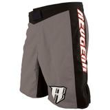 Spartan Pro III Fight Shorts - Grey/Black
