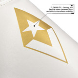 Pinnacle P4 Shin Guards - White/Gold