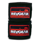 """Hand Wrap 180"""" 3- Pack with Free Wash Bag - Black/Red"""