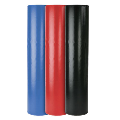 Pole Pads are an excellent way to cover up dangerous placed poles, I-beams, or columns, providing additional safety for your students and facility.  Standard pole pads have a 16in diameter, are 72in tall, and will accommodate poles up to 8in in diameter, or 8in square columns.  Every Pole Pad is constructed of a durable polyurethane foam wrapped in durable 14 oz. fire-resistant vinyl.  Please Note: In an effort to keep shipping costs down, the pole pad foam is cut into 2 sections. Each pole pad comes with 2 foam pieces and vinyl wrap that fastens around the foam via a hook and loop fastening system. If you wish for your pole pad to be delivered as a single piece of foam, please discuss with your sales consultant. Additional shipping charges will apply.