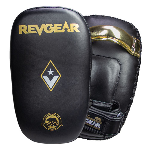 Curved Pro Leather Thai Pads