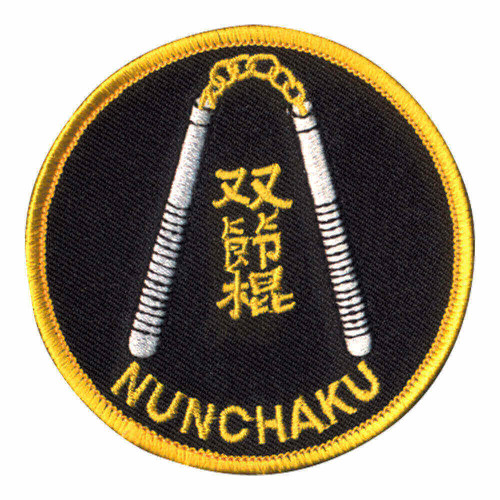 Nunchaku Round Patch