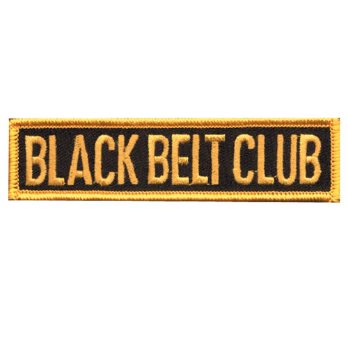 Black Belt Club - Belt Patch