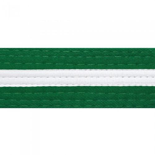 White Striped Colored Belt