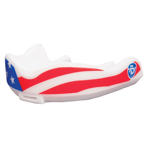 Fightdentist Junior Boil & Bite Mouth Guard | for Boxing and Martial Arts |  Stars & Stripes