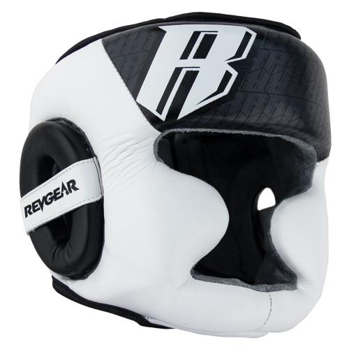Champion II Headgear With Chin - White
