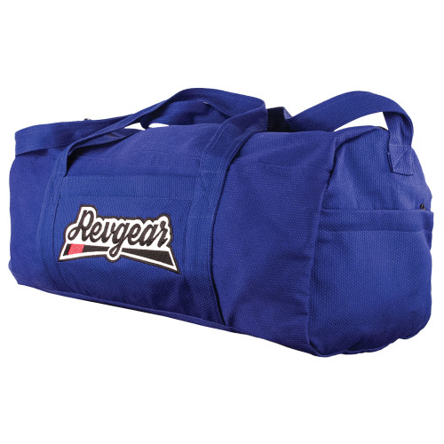 4-Pocket Jiu Jitsu Duffel in Gi Fabric - Blue