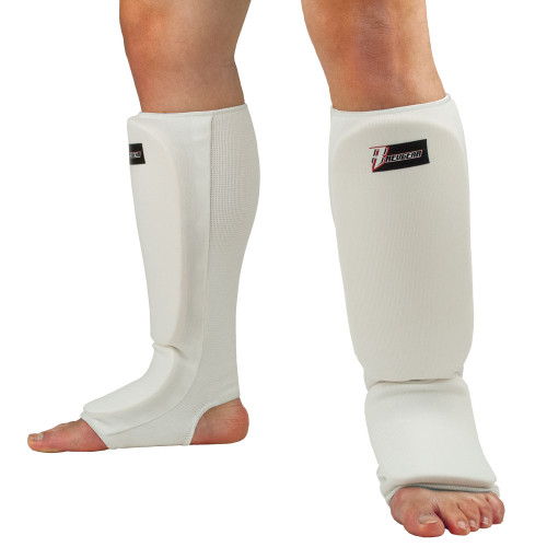Cloth Shin and Instep Pad - White